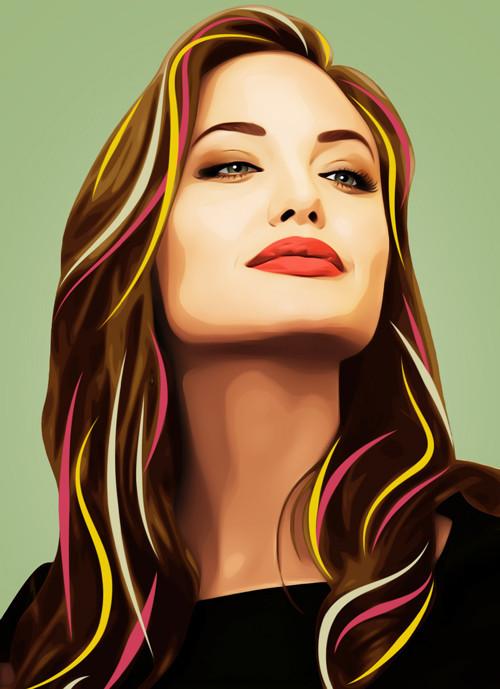 Три грации. Первая – Анджелина Джоли.  . Изображение № 7.