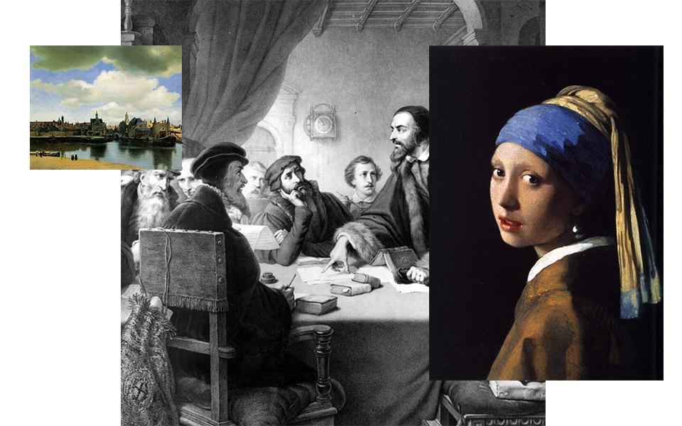 Картины голландских художников, кальвинизм, голландский город Делфт. Изображение № 20.