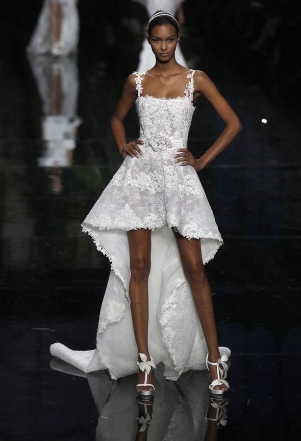 Главные тренды свадебной моды, или В чём выходить замуж в 2012 году. Изображение № 2.