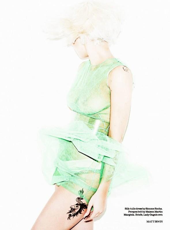 Съёмка: Леди Гага для Elle. Изображение № 3.