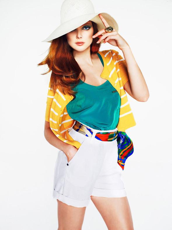 Изображение 5. Лукбук: Mango Color & Stripes.. Изображение № 5.