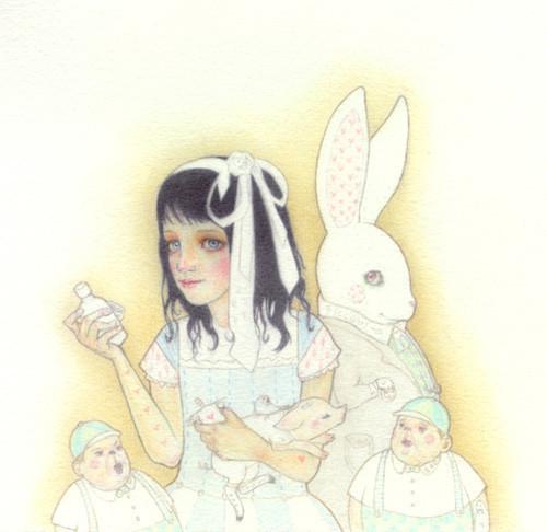 Детский иллюстратор Lilly Piri, любительница конвертов. Изображение № 1.