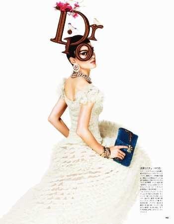 Съёмка: Кристал Ренн для Vogue. Изображение № 5.