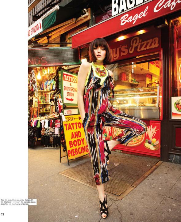 Новые съемки: Vogue, Nylon и другие. Изображение № 7.