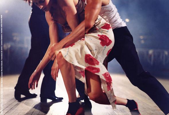 Архивная съёмка: сет Fashion Marathon из итальянского Vogue за 1997 год. Изображение № 10.