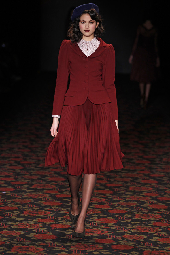Berlin Fashion Week A/W 2012: Lena Hoschek. Изображение № 26.