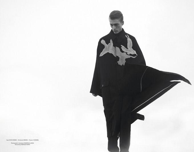 Вышли новые мужские съемки из Citizen K, Fashionisto, Vogue и других журналов. Изображение № 9.