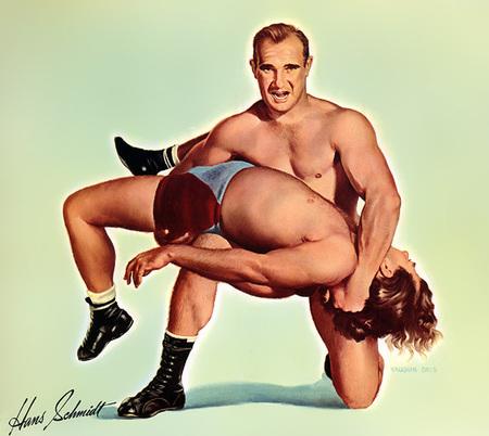 Wrestling Stars забавный ретро – календарь. Изображение № 6.