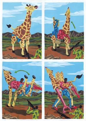 Босх 2.0: Иллюстрации-комиксы Брехта Ванденбрука. Изображение № 17.