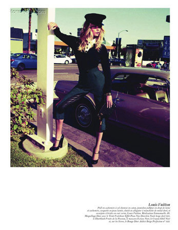 Съёмка в парижском Vogue, август 2011. Изображение № 64.