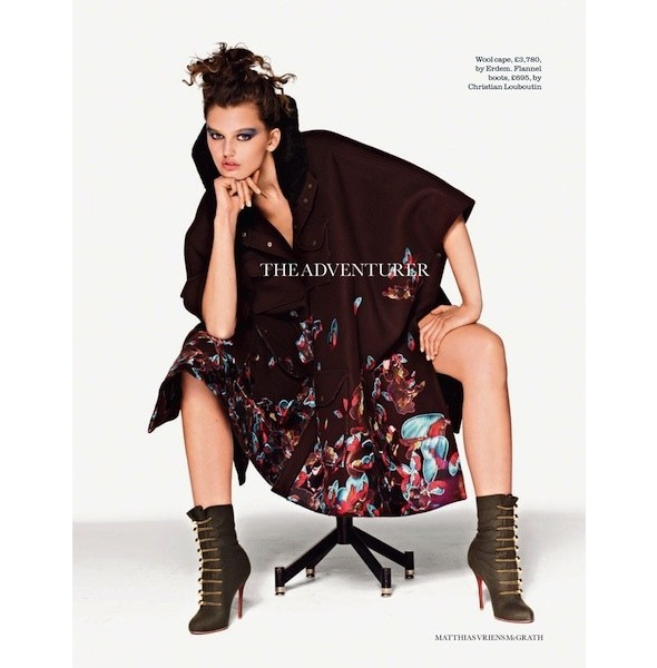 5 новых съемок: Dossier, Elle, V и Vogue. Изображение № 19.