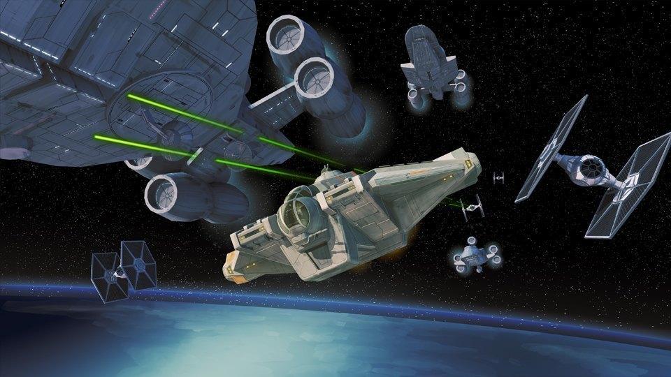 Продюсер анимационных «Звёздных войн» о работе мечты. Изображение № 3.