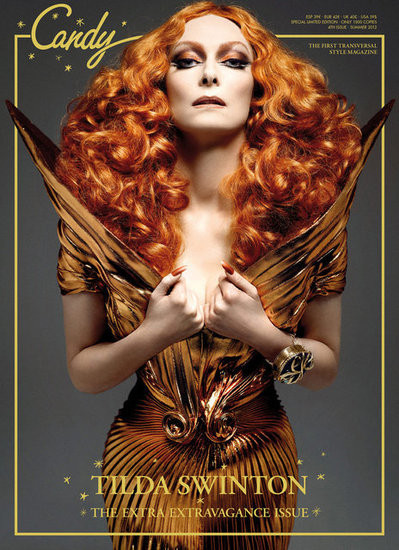 Обложки: Candy, Vogue, T и другие. Изображение № 1.