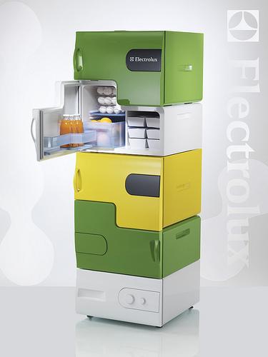 Модульный холодильник Electrolux. Изображение № 1.