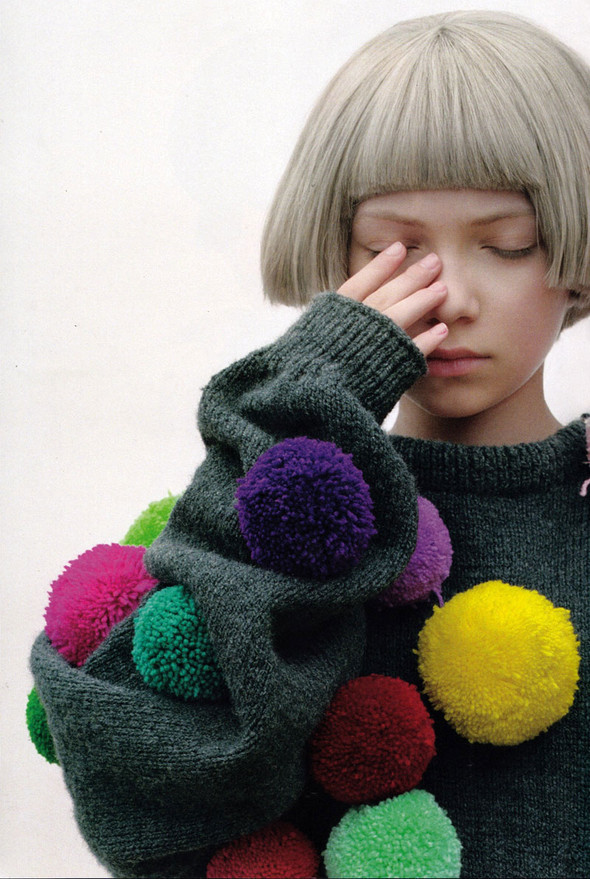 TAVI GEVINSON for POP magazine. Изображение № 4.