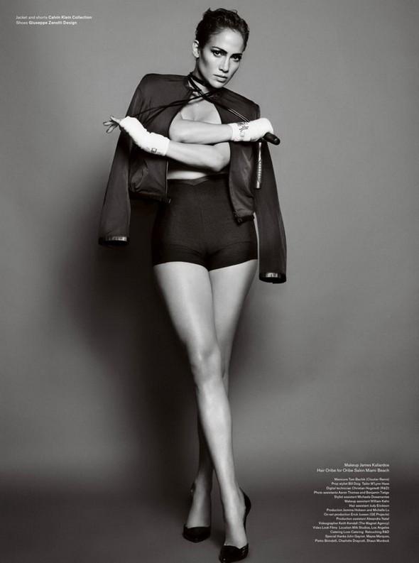 Дженнифер Лопес для V Magazine. Изображение № 4.