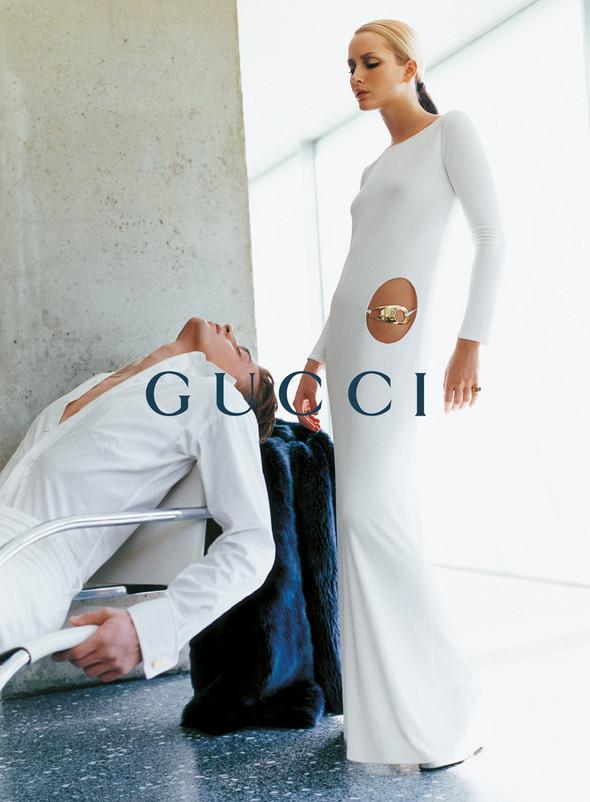 Архивная съёмка: Кампания Gucci FW 1996. Изображение № 14.