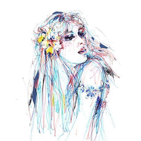 Иллюстрации Antoinette-Fleur. Изображение № 4.