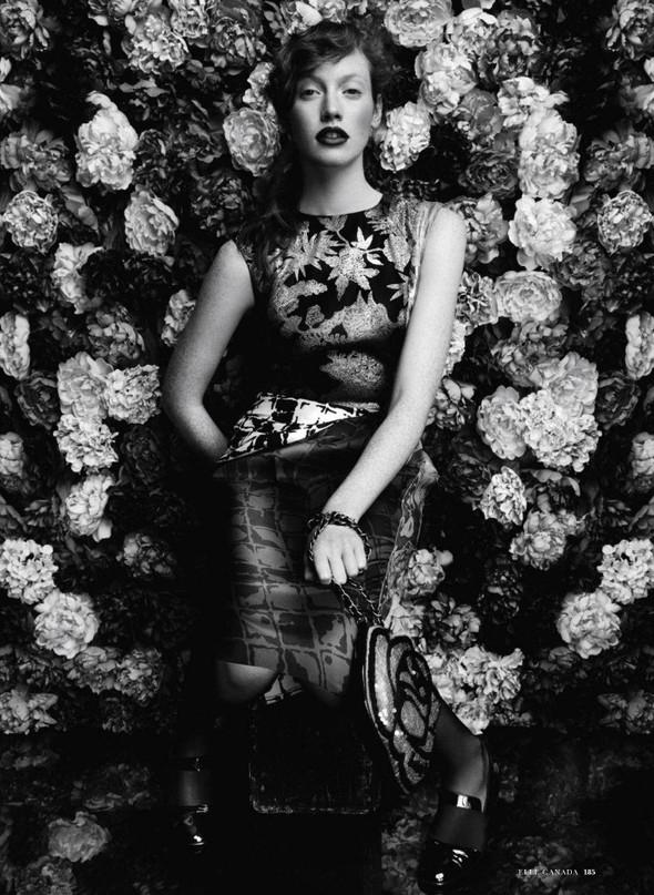 Съёмка: Шанталь Стаффор-Аббот для Elle. Изображение № 5.