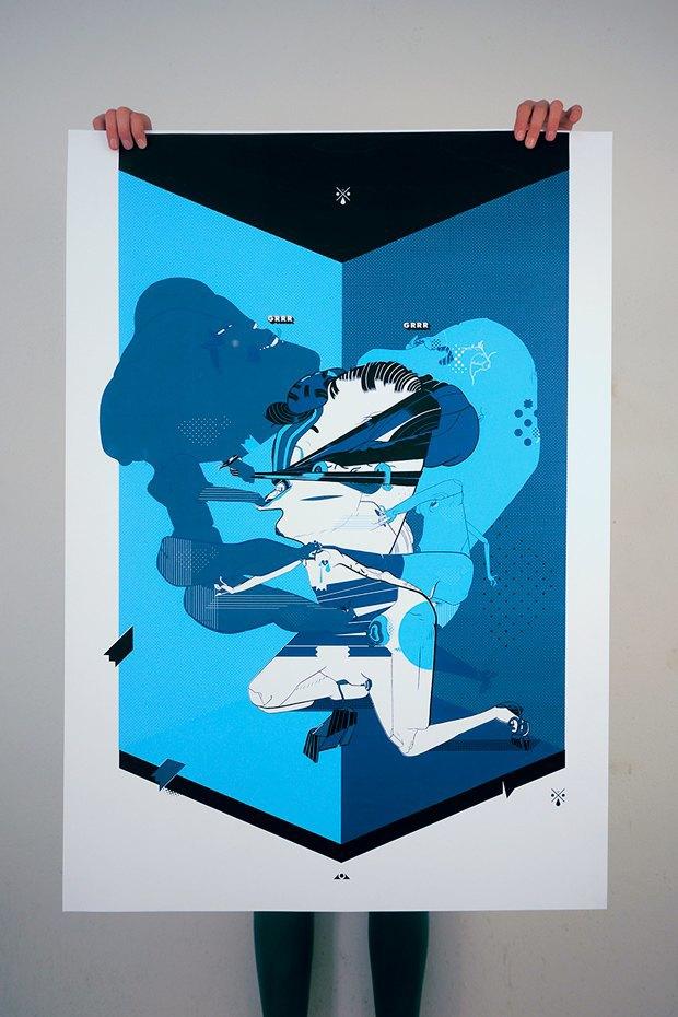 50 постеров, которые вдохновляют заняться шелкографией. Изображение № 40.