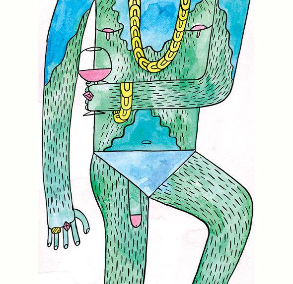 Мэтью Ходсон — человек-лошадь. Изображение № 42.