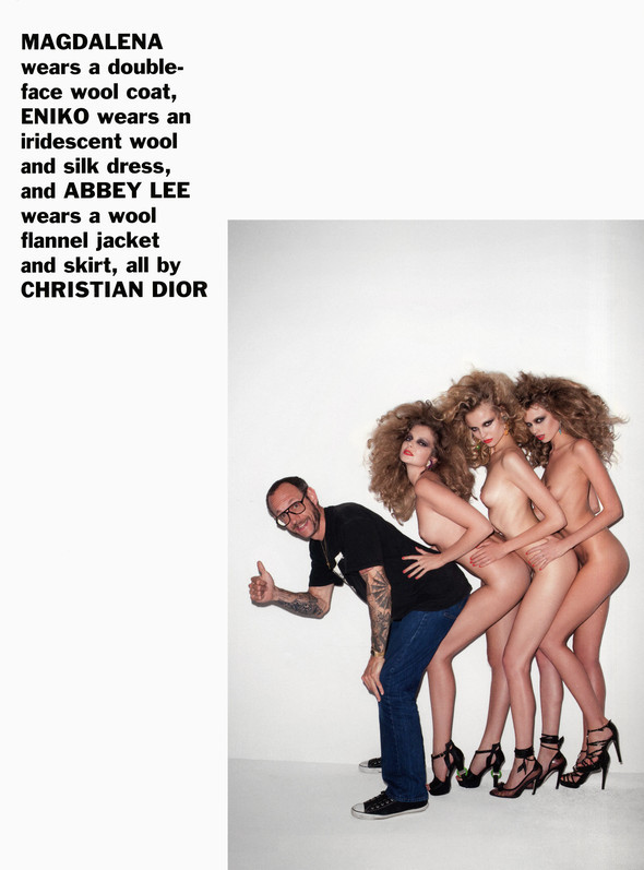Purple Fashion: Best of the season by Terry Richardson. Изображение № 25.