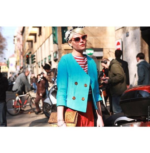 Изображение 83. На полях: 10 тенденций уличного стиля с прошедших недель моды.. Изображение № 83.