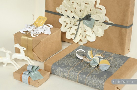 55 идей для упаковки новогодних подарков. Изображение №65.