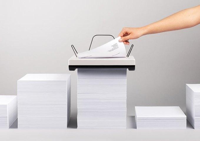 Разработан принтер, который не придется заряжать бумагой . Изображение № 1.