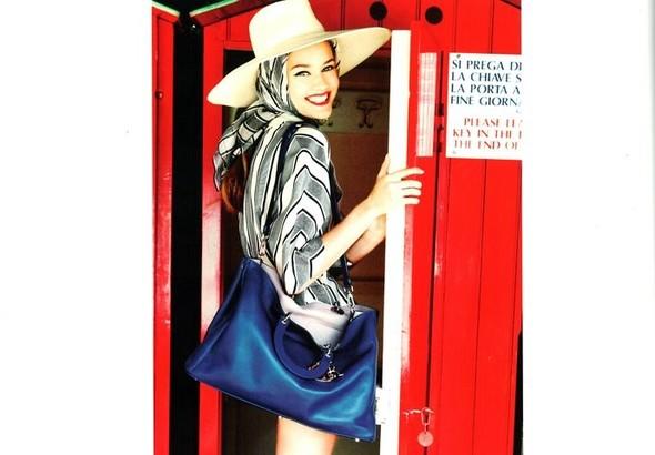 Кампания: Моника Ягачак и Эллен фон Унверт для Dior Cruise 2012. Изображение № 5.