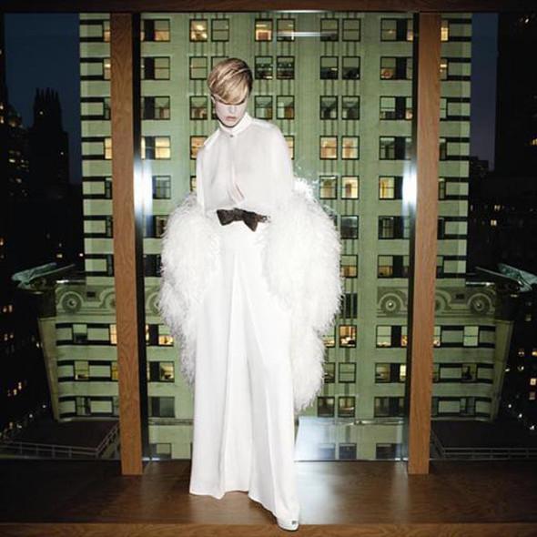 Кампания: Ракель Зиммерманн для Yves Saint Laurent FW 2011. Изображение № 6.