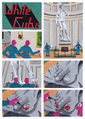Босх 2.0: Иллюстрации-комиксы Брехта Ванденбрука. Изображение № 4.