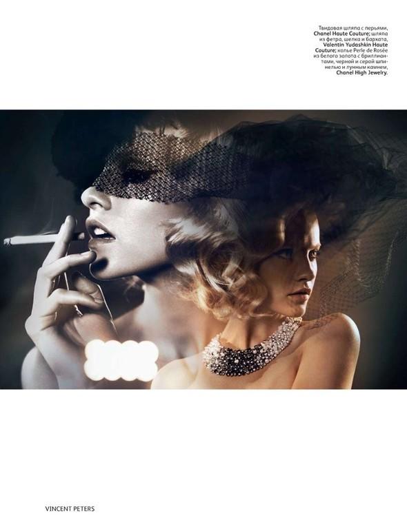 Съёмка: Гинта Лапина для российского Vogue. Изображение № 7.