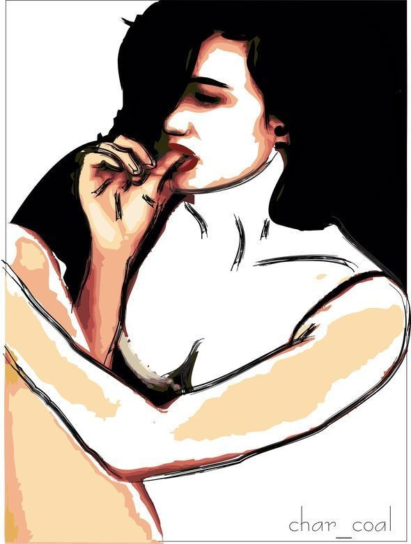 Изображение 6. Разлитая краска по монитору.. Изображение № 6.