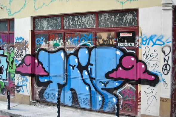 Стрит-арт и граффити Афин, Греция. Изображение № 33.