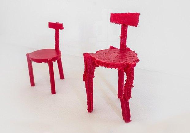 Глитч-мебель: красивые компьютерные ошибки в интерьере. Изображение № 38.