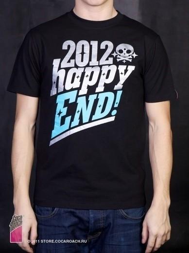 "Футболка Cocaroach ""Happy End 2012"". Изображение № 8."