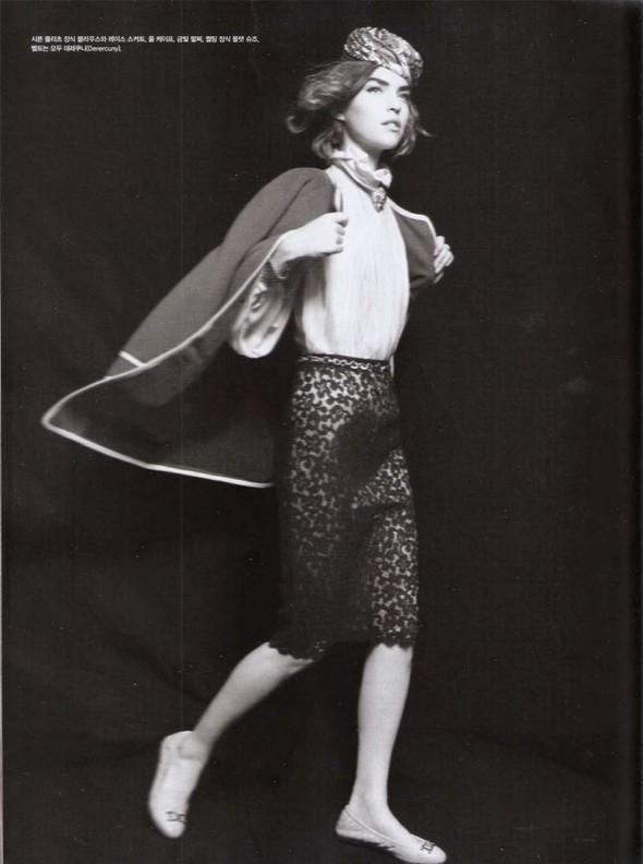 Съёмка: Аризона Мьюз для Vogue. Изображение № 5.