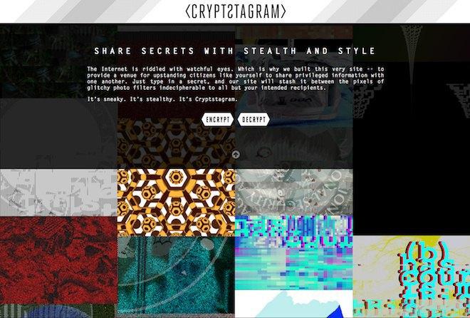 Инструмент Crypstagram шифрует сообщения и картинки. Изображение № 3.
