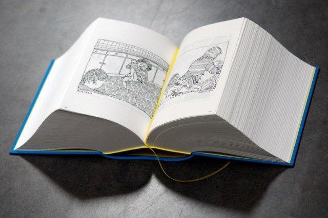 Иллюстратор издал 3,5-килограммовую книгу с 2 500 рисунками . Изображение № 1.