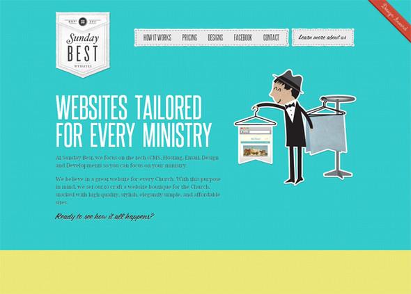 Персонажи в дизайне сайтов. Изображение № 40.