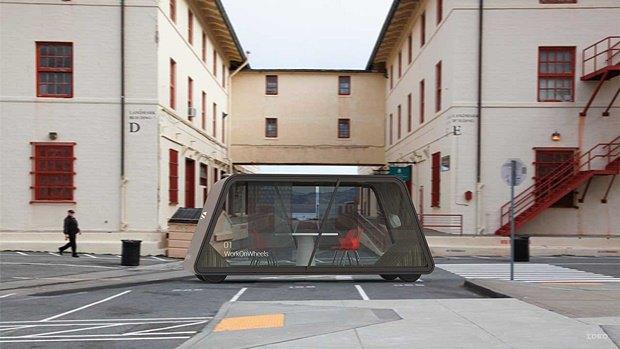 Концепт: как будет выглядеть транспорт в 2029 году. Изображение № 36.