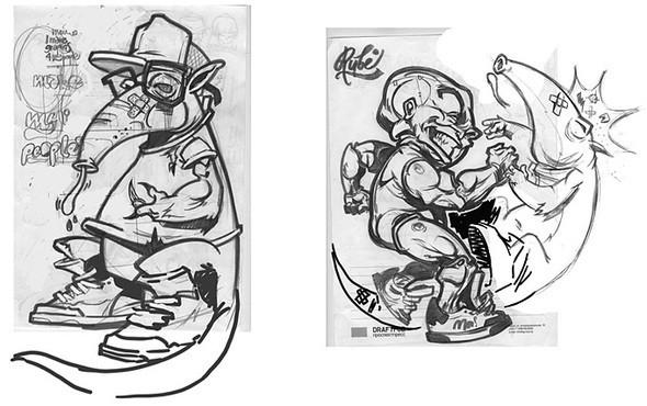 Изображение 4. Коллаборация Anteater, Drugoy Hip-Hop и Orka.. Изображение № 3.