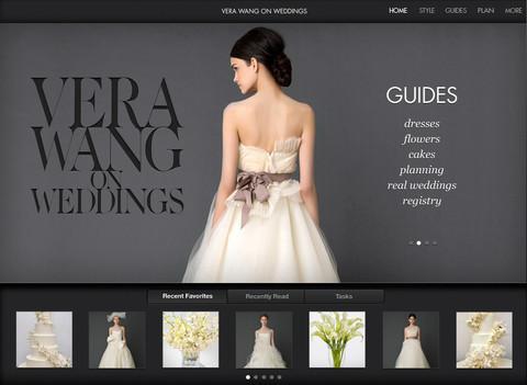 Cвадебное приложение для iPhone и iPad от Vera Wang. Изображение № 1.