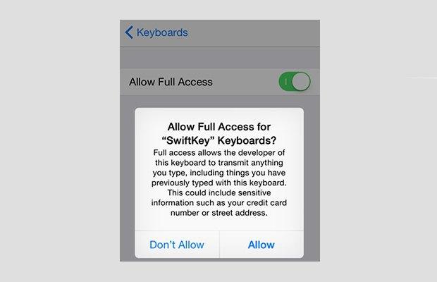 Чем опасны сторонние клавиатуры для iOS 8. Изображение № 4.