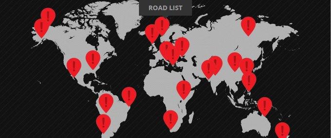 Представлена карта самых опасных дорог мира. Изображение № 1.