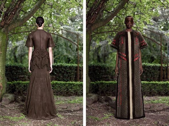 Кутюр в деталях: Маски, бисер и кожа в коллекции Givenchy. Изображение № 24.