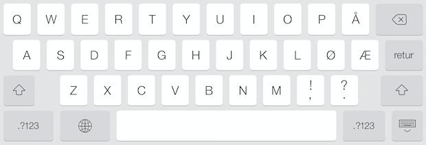 Клавиатура в iOS 8. Изображение № 3.
