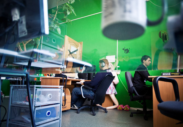 Офис дизайн-студии «Nimax». Изображение № 4.
