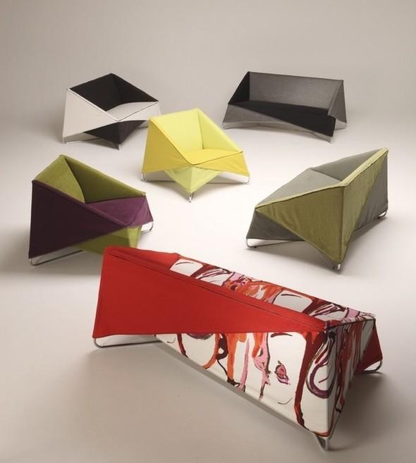 Мебель-«оригами» от Biesse. Изображение № 4.